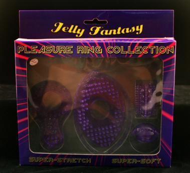 Pleasure Ring Collection, Jelly Fantasy