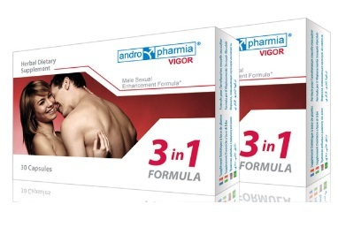Vigor Male Sexual Enhancement Formula 3 in 1